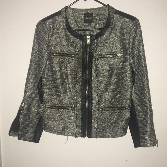 XOXO Jackets & Blazers - Xoxo Jacket 3/4 sleeves Size small